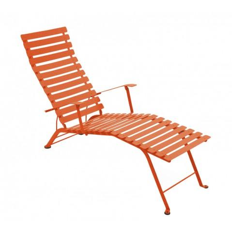 Chaise longue pliante BISTRO de Fermob paprika