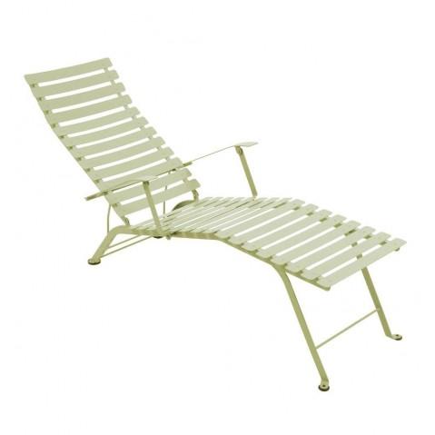 Chaise longue pliante BISTRO de Fermob, Tilleul