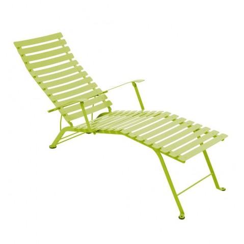 Chaise longue pliante BISTRO de Fermob, Verveine