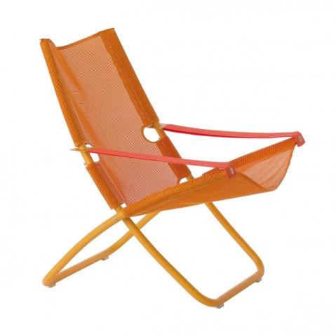 Chaise longue SNOOZE de Emu, orange
