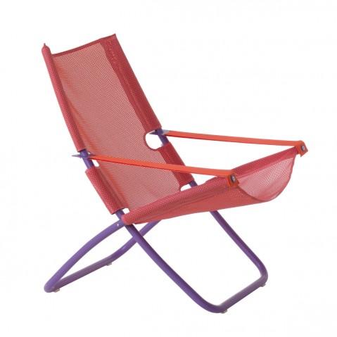 Chaise longue SNOOZE de Emu, rose