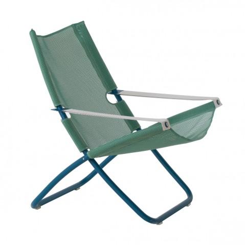 Chaise longue SNOOZE de Emu, vert/bleu