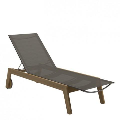 Chaise longue SOLANA de Gloster, Granite