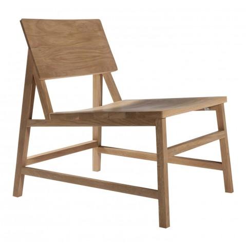 Chaise lounge N2 en chêne d'Ethnicraft