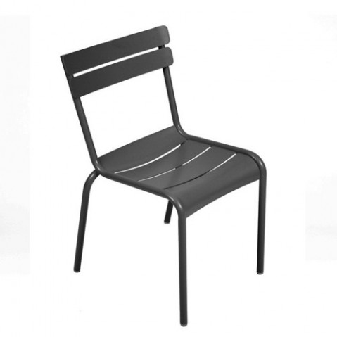 Chaise LUXEMBOURG de Fermob Carbone