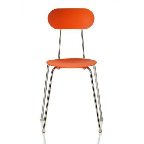 Chaise MARIOLINA de Magis orange