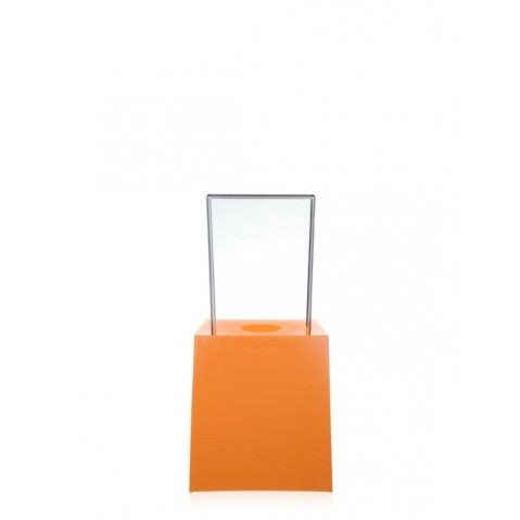 Chaise MISS LESS de Kartell, Orange-Cristal