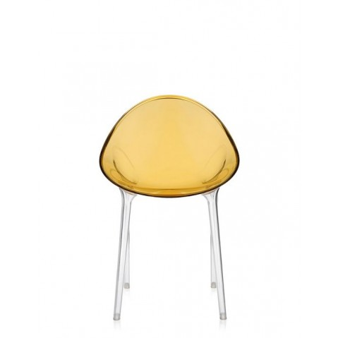 Chaise MR IMPOSSIBLE de Kartell, Ocre