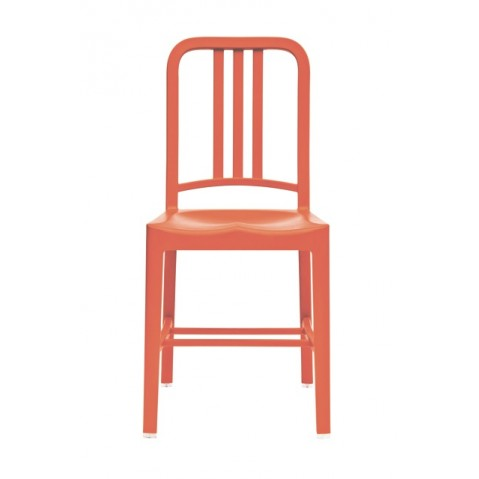 Chaise NAVY 111 de Emeco orange