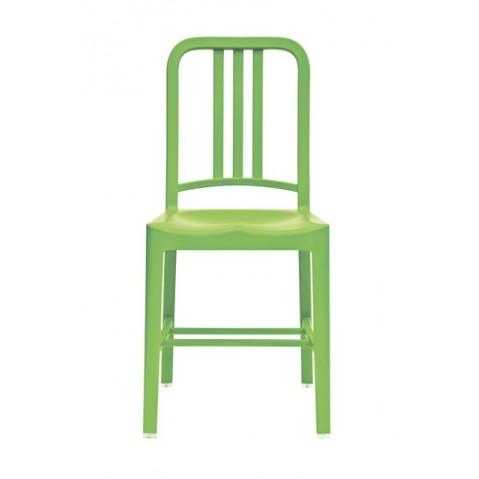 Chaise NAVY 111 de Emeco vert