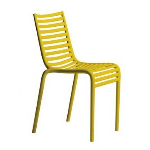 Chaise PIP-E de Driade en jaune