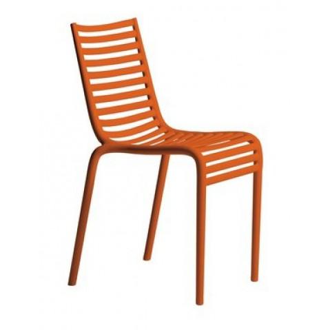Chaise PIP-E de Driade en orange