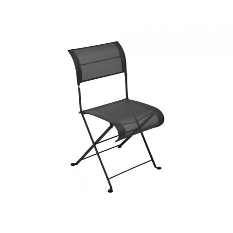 Chaise pliante DUNE de Fermob réglisse