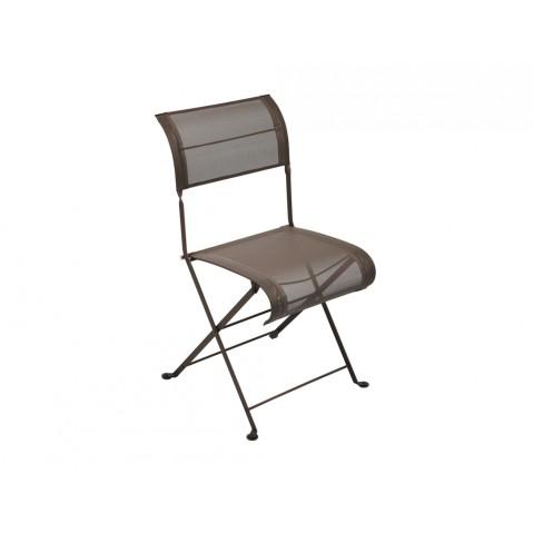 Chaise pliante DUNE de Fermob rouille