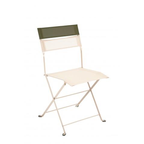 Chaise pliante LATITUDE de Fermob lin