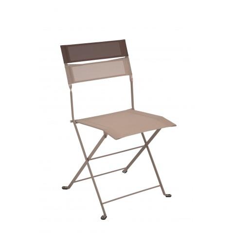 Chaise pliante LATITUDE de Fermob muscade