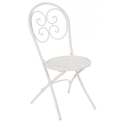 Chaise pliante PIGALLE de Emu blanc