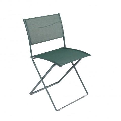 Chaise pliante PLEIN AIR de Fermob cèdre