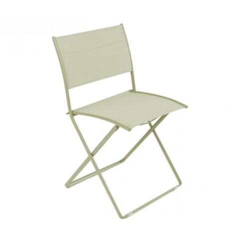 Chaise pliante PLEIN AIR de Fermob tilleul