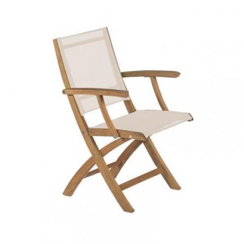 Chaise pliante XQI de Royal Botania, Blanc