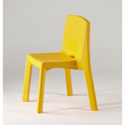 Chaise Q4 de Slide jaune