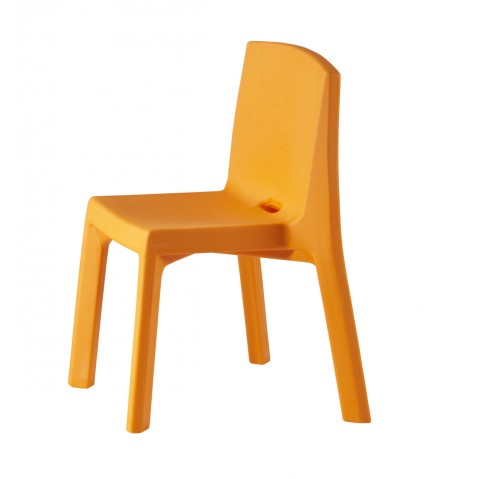 Chaise Q4 de Slide orange