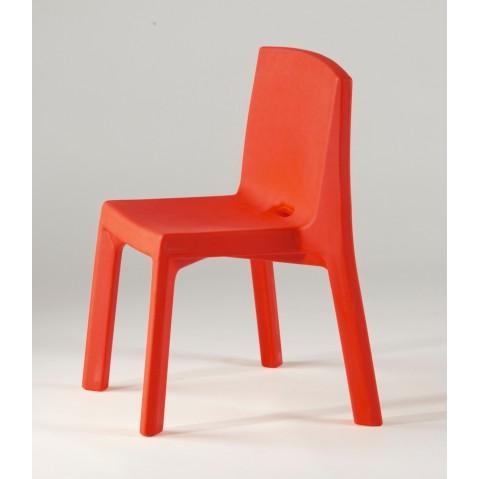 Chaise Q4 de Slide rouge