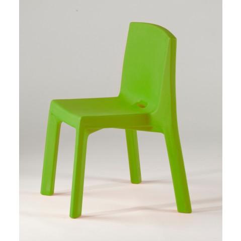 Chaise Q4 de Slide vert lime