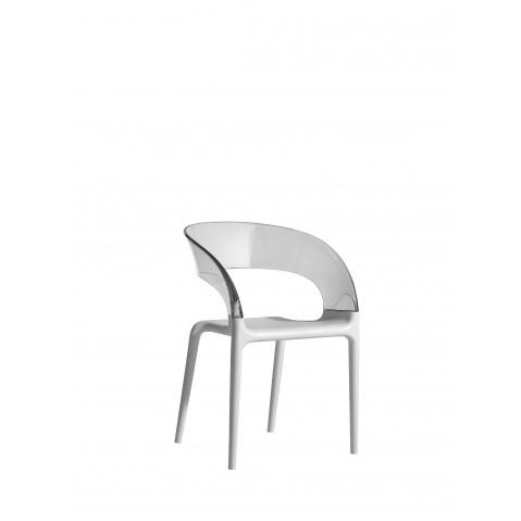 Chaise RING de Driade blanc