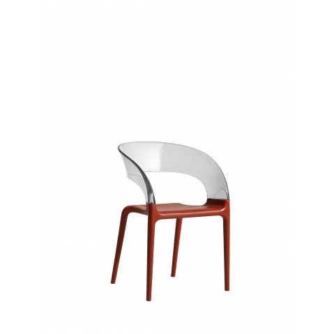 Chaise RING de Driade rouge