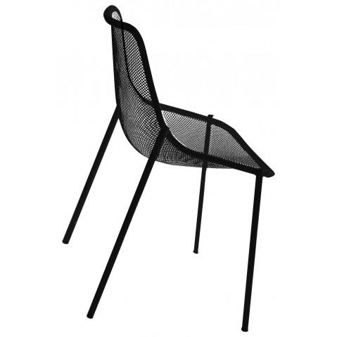 Chaise ROUND de Emu, Noir