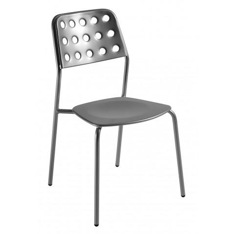 Chaise SHOT de Emu, Aluminium