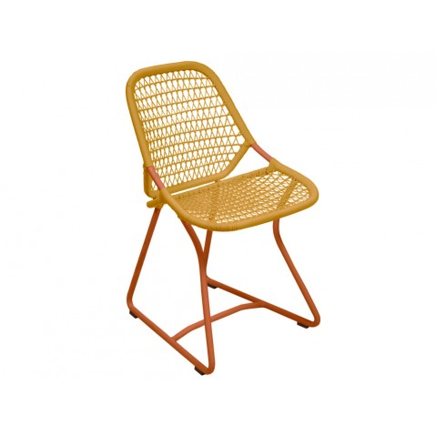Chaise SIXTIES de Fermob, Paprika/Safran