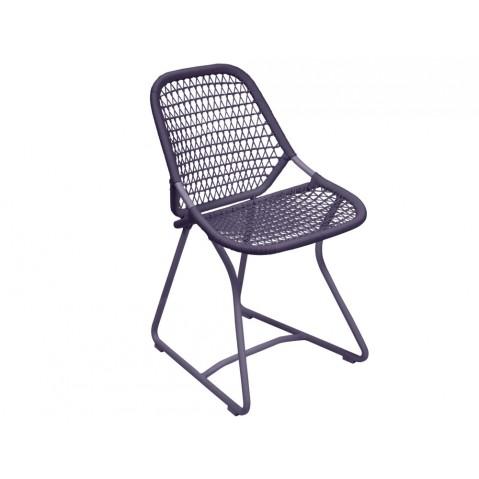 Chaise SIXTIES de Fermob, Prune/Prune