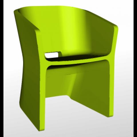Chaise SLICED CHAIR Qui est Paul Vert