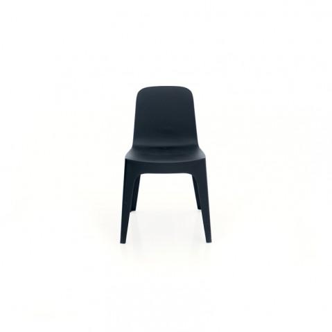 Chaise SOLID de Vondom, Noir
