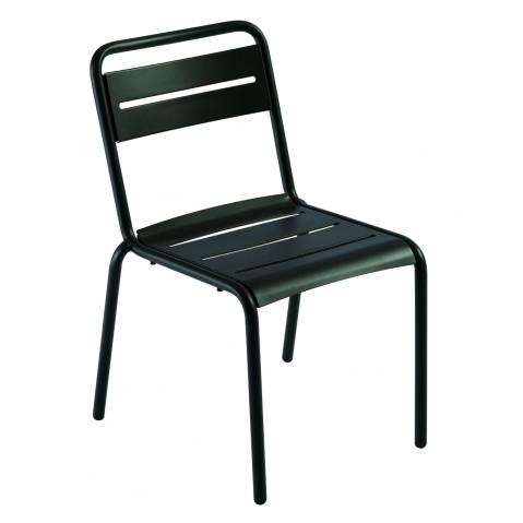 Chaise STAR de Emu, Noir