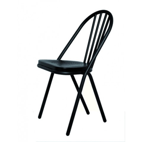 Chaise SURPIL assise noire