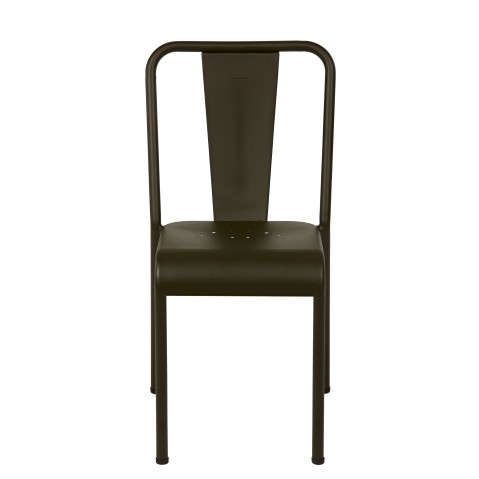 Chaise T37 Inox de Tolix, 5 coloris