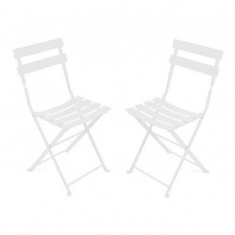 Chaise TOM POUCE de Fermob blanc coton