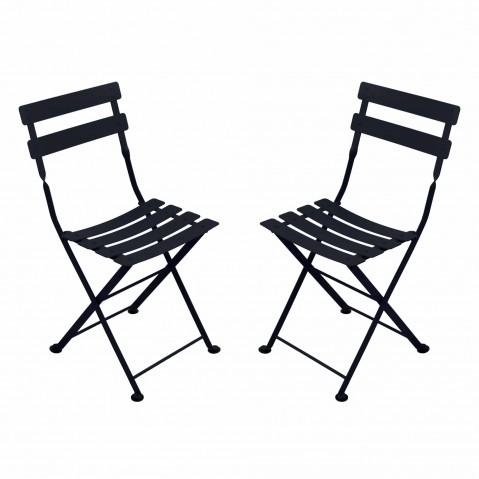Chaise TOM POUCE de Fermob, Carbone