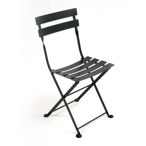 Chaise TOM POUCE de Fermob noir réglisse