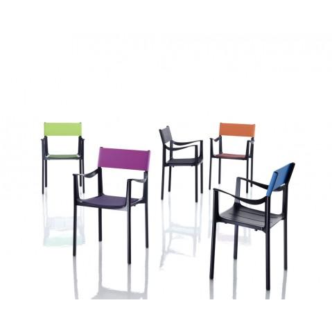 Chaise VENICE de Magis, 5 coloris