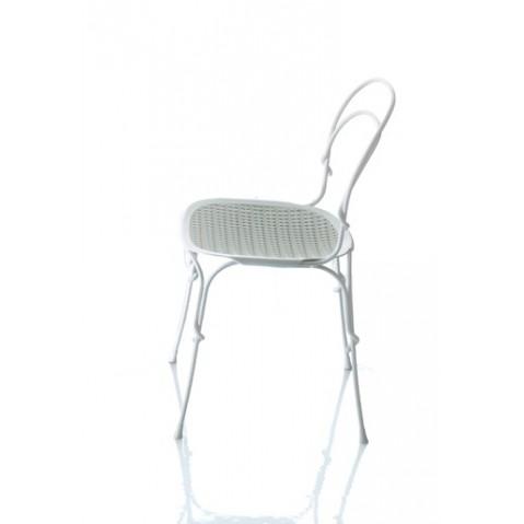Chaise VIGNA de Magis blanc