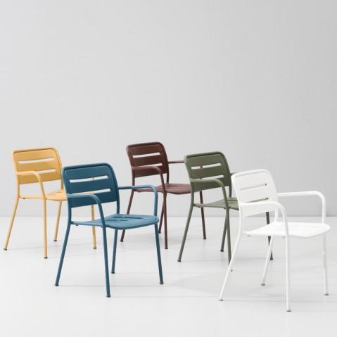 Chaise VILLAGE de Kettal, 11 coloris