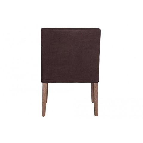 Chaises Billy II de Flamant, Marron
