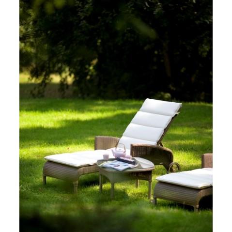 Chaises longues Vincent Sheppard Deauville Lounger Broken white-03