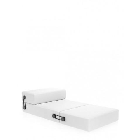 Chauffeuse/pouf TRIX de Kartell, Blanc