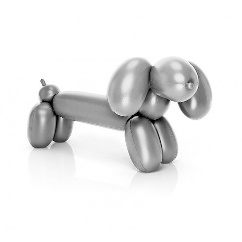 Chien gonflable HOT DOG de Fatboy, Silver