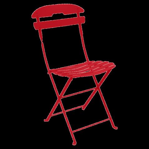 Chaise LA MÔME de Fermob, Coquelicot